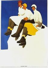 Original vintage poster BALLY SWISS WINTER HIKING SHOES 1924
