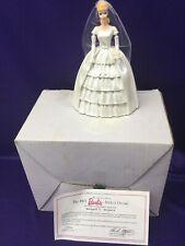 "Danbury Mint 6"" Brides Dream. The Classic Barbie Figurine Collection 1993."
