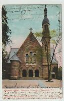 1908 Postmarked Postcard Marquard Chapel Princeton University New Jersey NJ