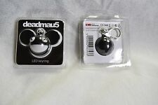 Deadmau5 Black Face LED Keyring Keychain in BLISTER Pack Official RARE