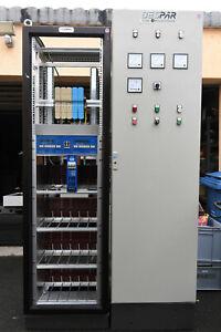 72 Kanal DMX Dimmer je 2,5kW in 2 Rittal Schränken Lichtregie mit Lichtstellpult