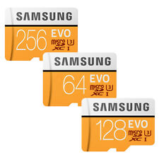 Samsung EVO microSD Memory Card with Adapter- 64GB/128GB/256GB