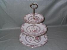 "Royal Doulton ""Canton"" 3-Tier Hostess China Cake Plate Stand H.5052 (V2)"