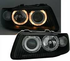 Audi A3 8L Facelift Angel Eyes Scheinwerfer schwarz Xenon Look links rechts