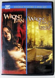Wrong Turn & Wrong Turn 2 - 2 Disc DVD Double Feature
