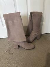 Stuart Weitzman Dusty Pink Tieland Over Knee Boots Size UK 4.5, EU 37.5, - New