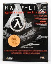 HALF-LIFE GENERATION - PC ESPAÑA - CAJA GRANDE DE CARTON - HALF LIFE HALFLIFE