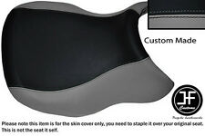GREY & BLACK VINYL CUSTOM FITS BMW R 1100 RT 94-01 & R 1150 RT 00-06 SEAT COVER