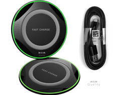 Qi Wireless Charger Pad Charging Dock Station for iPhone XS Max X XR Galaxy S10