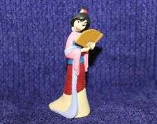 Disney Glitter Princess Cake Topper Figure Mulan