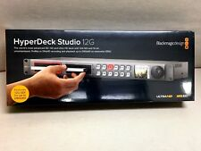 NEW Blackmagic Design HyperDeck Studio 12G HYPERD/ST/12G FAST Expedited Shipping