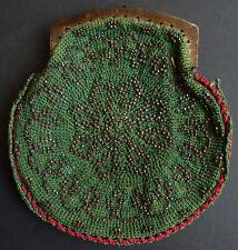 Bourse sac en acier clouté 19th century bag purse reticule  19e siècle