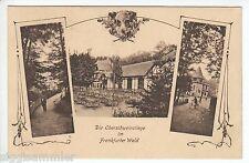 Frankfurt AK 1922 Gruß von der Oberschweinstiege Mehrbild Hessen 1602309