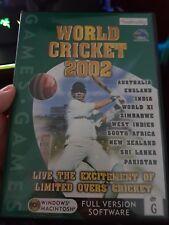 World Cricket 2002 -  PC GAME - FREE POST *