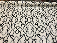 P Kaufmann PK Lifestyles Noir Black Linked SD Fabric by the yard