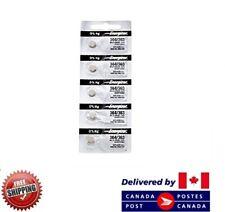 5 PCS ENERGIZER 364 Watch Batteries 0% MERCURY SR621SW 364 CDN SELLER