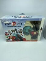 Disney Infinity Nintendo 3DS Toy Box Challenge Jack Sparrow Mr. Incredible Sully