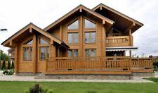 Log House Kit Lh 237 Eco Friendly Wood Prefab Diy Building Cabin Home Diy Easy