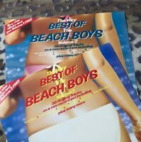 BEACH BOYS - Best Of, Vol.1 & 2 - Vinyl LP - Capitol BBTV A2/B3 & A1/B1 Ex/Ex