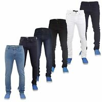 Mens Stretch Skinny Slim Fit Jeans Denim Cotton Trousers Pants All Waist Sizes