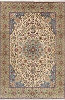 Vintage Traditional Floral Hand-Knotted Area Rug Medallion Wool Carpet 8 x 12