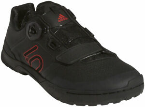 Five Ten Kestrel Pro BOA Clipless Shoes   Core Black / Red / Gray Six   12