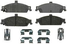 Disc Brake Pad Set-Ceramic Disc Brake Pad Front ACDelco Advantage 14D727CH