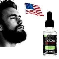 100% Natural Beard Mustache Hair Growth Oil Wax Balm Conditioner Oil 30ml