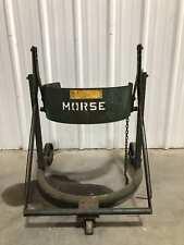 "Morse 22-1/2"" Diameter Drum Handling Cart/Dumper"