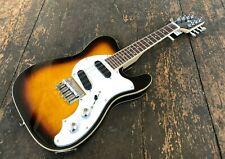 Revelation RTM Guitar Shaped Electric Mandolin Two Tone Sunburst