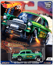 HOT WHEELS CAR CULTURE DRAG STRIP DEMONS '55 CHEVY BEL AIR GASSER (PRE-ORDER)