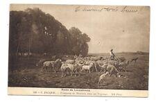 musée du luxembourg  , c.jacques  troupeau de moutons dans un paysage