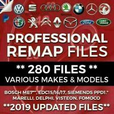 280 Remapped Files ECU Tuning VW Audi Skoda Seat BMW Jaguar (ORIGINAL SELLER)