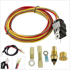 Professional Auto Electric Cooling Fan Single Control Wiring Harness Install Kit