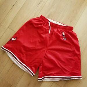 100% Authentic Bulls Vintage Champion Shorts Size L Mens - jordan pippen rodman