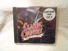 CLASSIC COUNTRY 1970-1974  2-DISC CD SET TIME LIFE MUSIC *FACTORY SEALED*