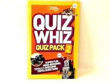 NATIONAL GEOGRAPHIC Kids Quiz Whiz #2 BOOK: Super Mind-Benders 24 PG NEW!