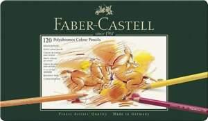 Faber-Castell Polychromos Farbstift, 120er Metalletui