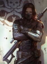 "047 Captain America 2 - 2014 Winter Soldier USA Hero Hot Movie 24""x32"" Poster"