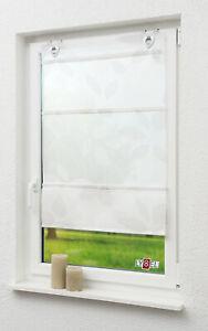 Magnetraffrollo Blätterblume von LYSEL®  #0A B: 80 cm L: 130 cm  taupe