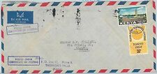 61344  - KENYA  - POSTAL HISTORY -  COVER to ITALY 1964 - OLYMPIC GAMES