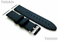 24mm - 4pcs Replacement Strap Set for Luxury, Sports, Casual Watches (B-SMFLT)
