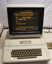 Vintage  Original Apple II+ w/ Indigo and Disk Controller Works  Ships Worldwide