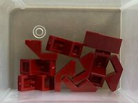 Lego 28192-4x brick slope//slope 45 2x1-red//red-new