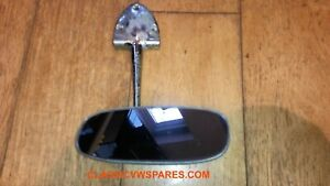 VW CLASSIC BEETLE 1958-1964 *LHD* GENUINE REAR VIEW INTERIOR MIRROR #113857511A