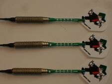 Soft Tip Darts Used, 14 Gram Brass with New Aluminum Shafts and Flights #986