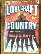 Lovecraft Country : A Novel by Matt Ruff (2017, Paperback)