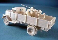 Milicast BG136 1/76 Resin WWII German Opel Blitz 3t Truck w Flak 30 20mm AA