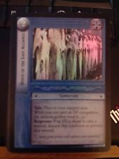 Lord of the Rings CCG Mines of Moria 2U18 Hosts the Last Alliance FOIL TCG LOTR
