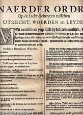 documenten geschreven in Vlaamse 1760 Cadaver 1664 Utrecht vieux neerlandais